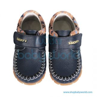 Snoffy Autumn Leather Shoes CBBB16806 Blue 21(1)