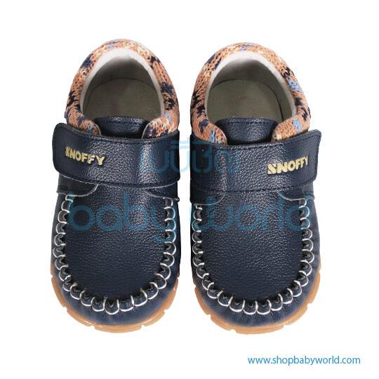 Snoffy Autumn Leather Shoes CBBB16806 Blue 21(1)