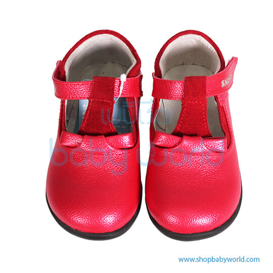 Snoffy Autumn Leather Shoes CABB 16808 Red 26(1)