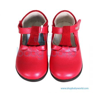 Snoffy Autumn Leather Shoes CABB 16808 Red 28(1)