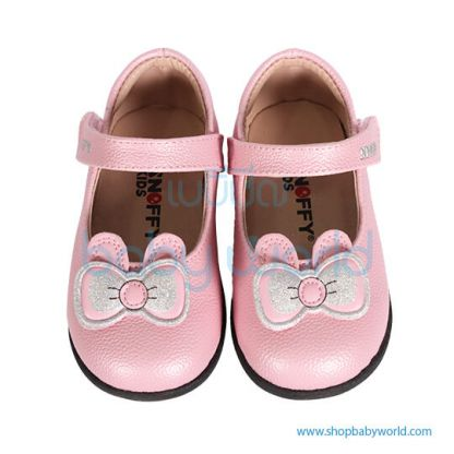 Snoffy Spring Leather Shoes CBBB18610 Pink 24(1)