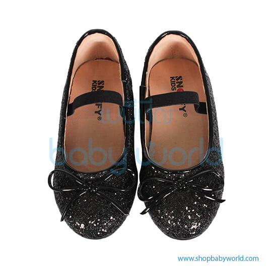 Snoffy Autumn Leather Shoes NAQK18814 Black 26(1)