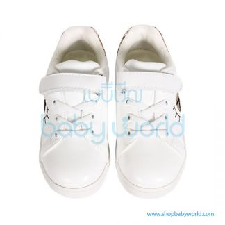 Snoffy Spring Shoes P3AYD18621 White/Red 28(1)