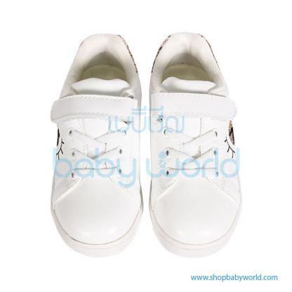 Snoffy Spring Shoes P3AYD18621 White/Gold 28(1)