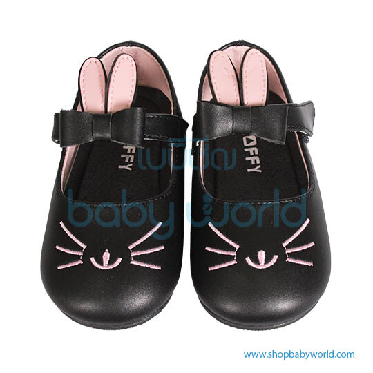 Snoffy First Step Shoes P3ABB18801 Black 21(1)