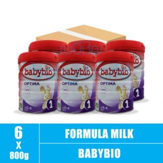 BABYBIO (1) 0-6M Optima 800g (6)CTN