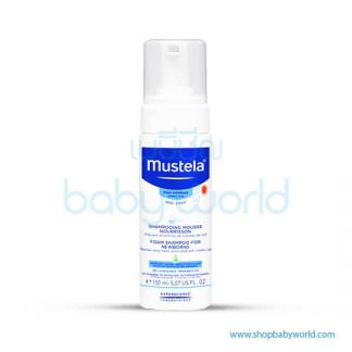 Mustela FOAM SHAMPOO FOR NEWBORNS 150ml(1)
