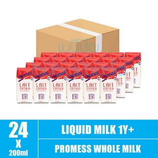 Promess Whole Milk 200ml (4)(CTN)
