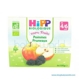 HIPP Organic Baby Food Mixed Fruits 6M+ 4x100g (6)