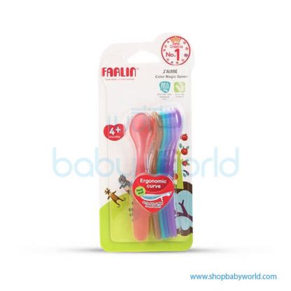 Farlin Rainbow Spoon 7pcs(1)