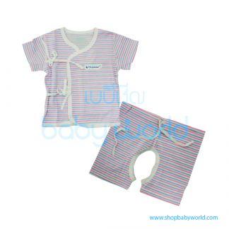 MafaBeBe Summer Short Sleeve Cloth Set Green 66(1)