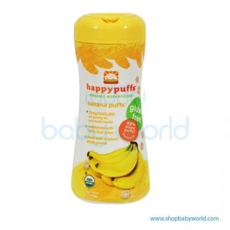 Happy puffs Banana and Pumkin 60g (6)