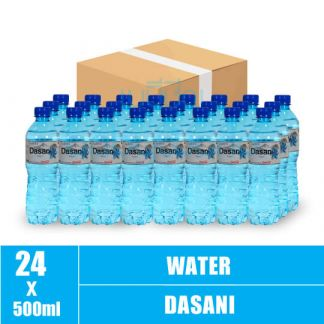 Dasani Mineral Water 500 ML 24 Bottles(24)CTN