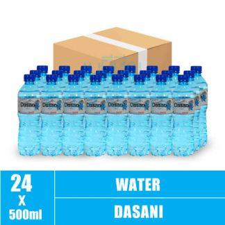 Dasani Mineral Water 500 ML 24 Bottles(24)CTN