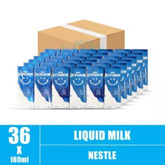 Nestle Lactogrow 3 UHT milk 180ml (9)CTN