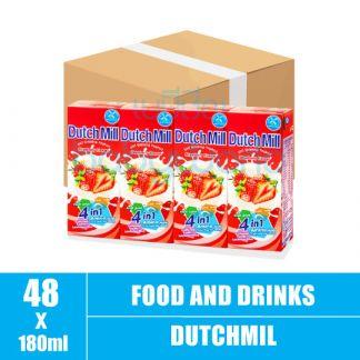 Dutchmill UHT 180ml Strawberry(12)CTN