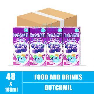Dutchmill UHT 180ml Blue Berry(12)CTN