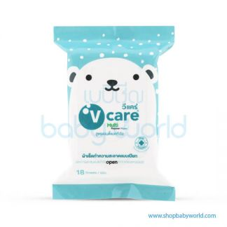 V Care Mini Wipe 18s(24)