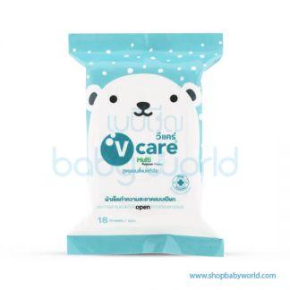 V Care Mini Wipe 18s(24)