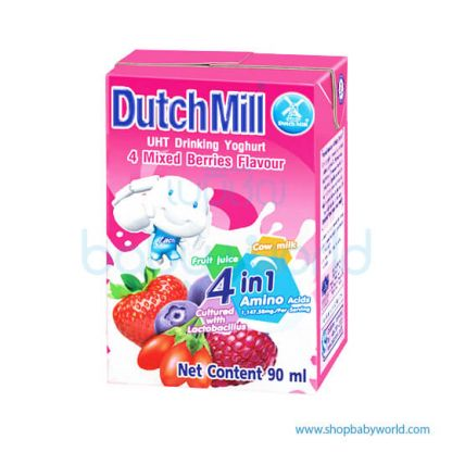Dutchmill UHT 90ml Mixed Berry 90ml(12)