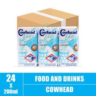 Cowhead Lite milk 4x3s 200ml(8)CTN