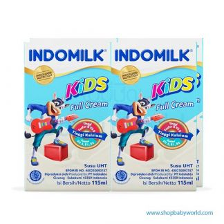 Indomilk Full Cream 10box x 4bot x 115ml (10)CTN