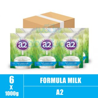A2 Full Cream milk powder- 1+ 1000g (6)CTN