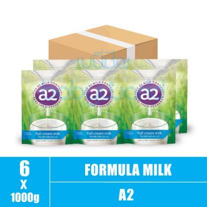A2 Full Cream milk powder- 1+ 1000g (6)CTN