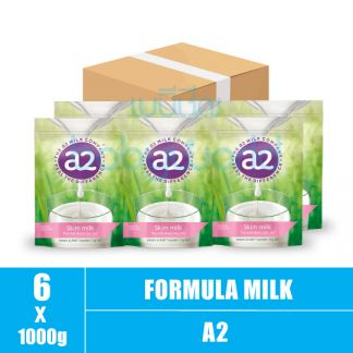 A2 Milk-Instant Skim Milk Powder 1+ 1000g (6)CTN