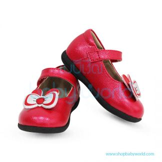 Snoffy Spring Leather Shoes CBBB18610 Red 22(1)