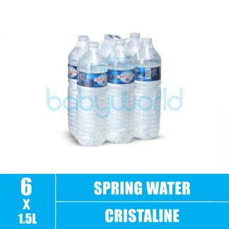 Cristaline Spring Water 1.5L (6)(CTN)