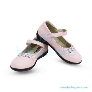 Snoffy Spring Leather Shoes DAQK18623 Pink 26(1)