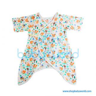 Muslin Tree Body Suits - Fox 0-6m(1)