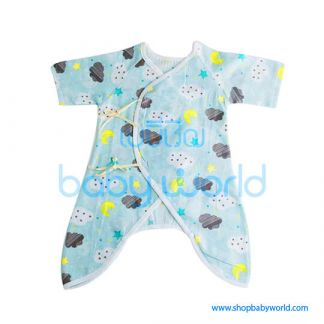 Muslin Tree Body Suits - Clouds 0-6m(1)