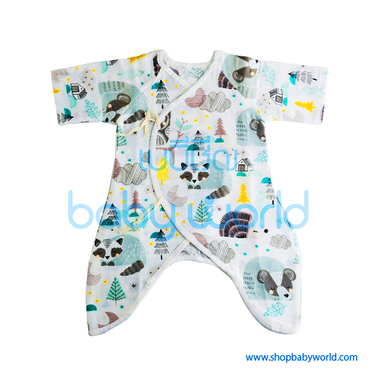 Muslin Tree Body Suits - Trees 0-6m(1)
