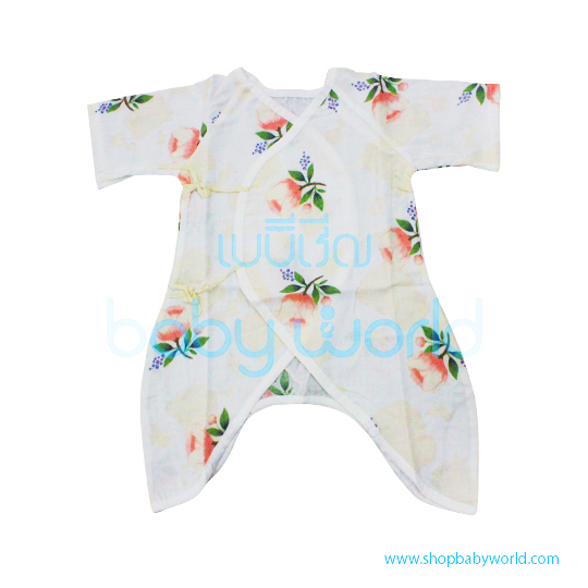 Muslin Tree Body Suits - Rose 0-6m(1)