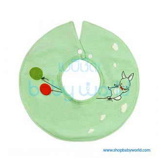 Muslin Tree 360 Bib - Blue Balloon(1)