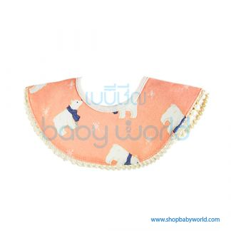 Muslin Tree 360 Bib - Bear(1)