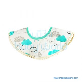 Muslin Tree 360 Bib - Space Cat(1)