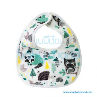 Muslin Tree Baby Bib - Trees(1)