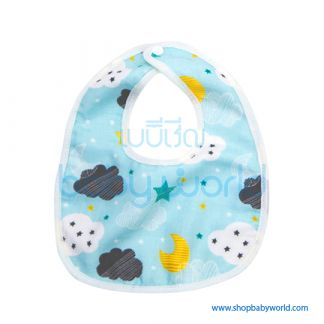 Muslin Tree Baby Bib - Glouds(1)