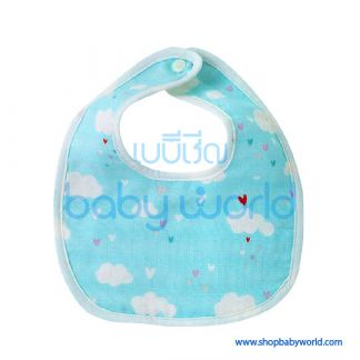 Muslin Tree Baby Bib - Hearts(1)