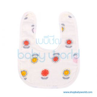 Muslin Tree Baby Bib - Big Elepants(1)