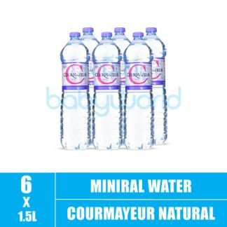 COURMAYEUR Natural mineral water 1.5L (6)(CTN)