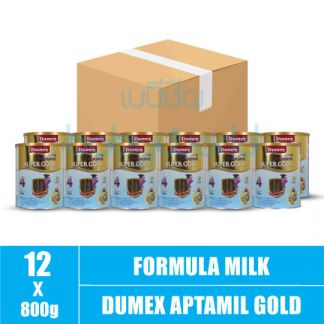 Dumex Aptamil Super Gold (4) 3y+ V 800g (12)CTN