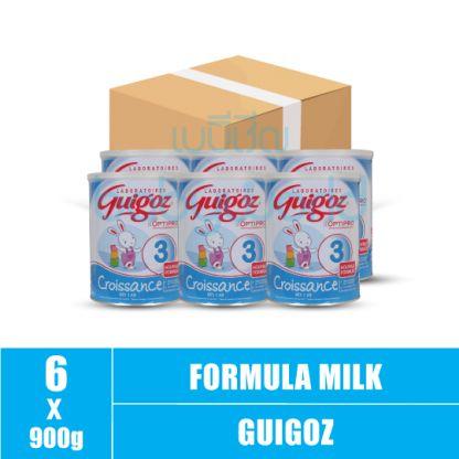 Guigoz (3) 1y+ 900g (6)CTN
