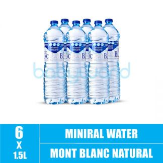 Mont Blanc Natural Mineral Water 1.5L (6)(CTN)