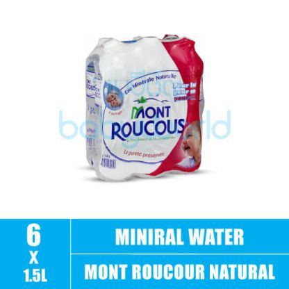 Mont Roucour Natural Mineral Water for Baby 1.5L (6)(CTN)