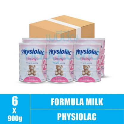 Physiolac (2) 6-12M 900g (6)CTN