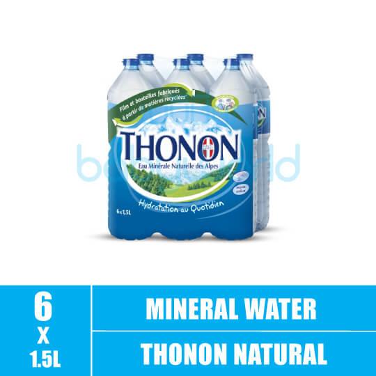 THONON Natural Mineral Water 1.5Lx6 (6)(CTN)